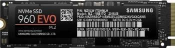 SSD Samsung 960 Evo 500GB NVMe PCI Express x4 M.2 2280 SSD-uri