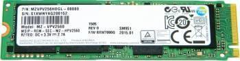 SSD Samsung Client SM951 NVMe 256GB PCIe 3.0 M.2