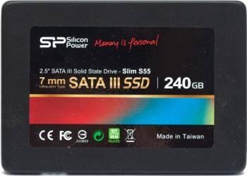 SSD Silicon Power S55 240GB Sata3 2.5 inch SSD uri