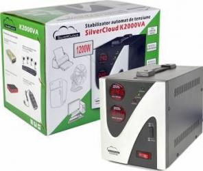Stabilizator de tensiune PNI SilverCloud 2000VA 1200W Stabilizatoare de tensiune
