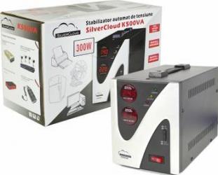 Stabilizator de tensiune PNI SilverCloud K500VA 300W Stabilizatoare de tensiune