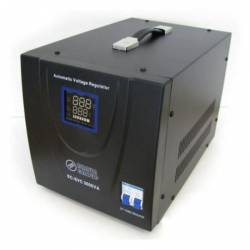 Stabilizator de tensiune cu servomotor 1500W Negru Braun Group Stabilizatoare de tensiune