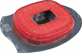 Stadion Bayern Munchen Allianz Arena Germania Puzzle si Lego