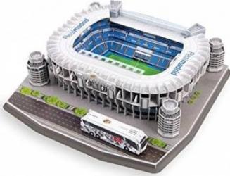 Stadion Real Madrid Santiago Bernabeu Spania Puzzle si Lego