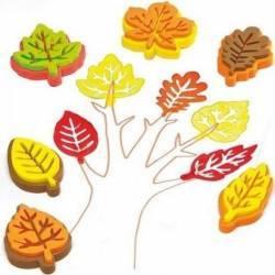 Stampile frunze - Baker Ross Jucarii
