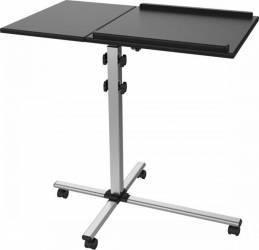 Stand de podea mobil pentru proiector SBOX PFS-2 Negru Accesorii Videoproiectoare