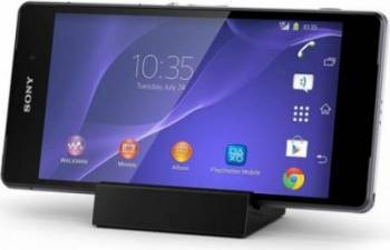 Dock  Incarcare De Birou Magnetic OEM Pentru Sony Xperia Z1-Z2-Z3 DK48 Negru Incarcatoare Telefoane