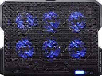 Stand racire Dragon War G-HW-002 LED notebook 17 inch Negru Standuri Coolere laptop