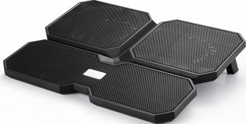 Stand Racire Laptop DeepCool Multi Core X6 15.6 Black Standuri Coolere laptop