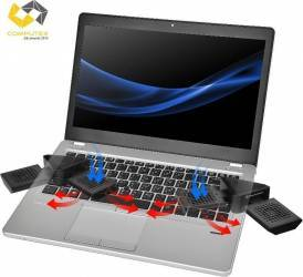 Stand Racire Thermaltake Satellite 2-in-1 Notebook Cooler and Speaker Standuri Coolere laptop