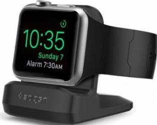 Stand Reincarcare Spigen Watch Apple Watch S350 Black Accesorii Smartwatch