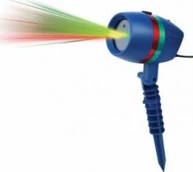 Star Shower Motion Proiectie lumini laser Efect 3D holografic Interior-Exterior Corpuri de iluminat
