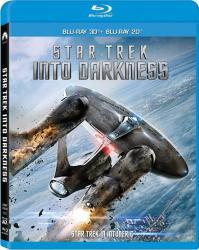 STAR TREK INTO DARKNESS BluRay 3D + 2D 2012