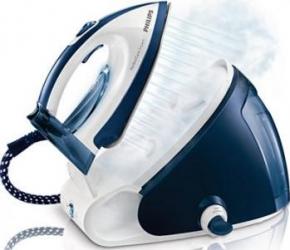 Statie de calcat Philips PerfectCare Expert GC9222/02 Talpa SteamGlide 2400 W 1.5 l 300 g/min Alb/Albastru  Resigilat Fiare, Prese si Statii de Calcat