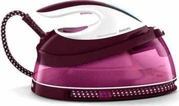 Statie de calcat Philips PerfectCare Compact GC780840 talpa SteamGlide 2400 W 1.5L 280 gmin 5.3 bari Resigilat Fiare, Prese si Statii de Calcat