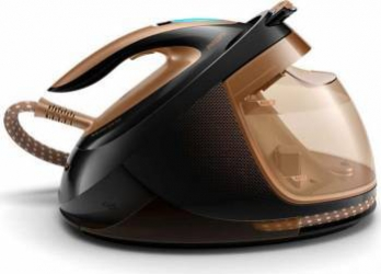 Statie de calcat Philips PerfectCare Elite Plus GC968280 2700W 1.8l 165 gmin Negru-Gold Resigilat fiare prese si statii de calcat