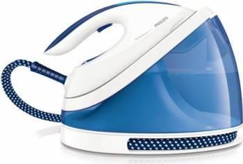 Statie de calcat Philips PerfectCare Viva GC701520 Talpa SteamGlide 2400W 1.7L 170 gmin AlbAlbastr Fiare, Prese si Statii de Calcat