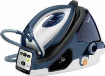 Statie de calcat Tefal GV9060E0 Pro Express Care, 2400W, 470g/min, 120g/min, Talpa Autoclean Durilium, 7 bari, 3 setari Fiare, Prese si Statii de Calcat
