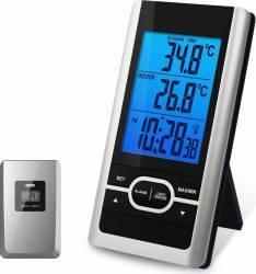 Statie de temperatura Koch Standard 14207 Blac-Silver Termometre si Statii meteo