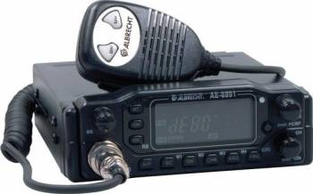 Statie radio CB Albrecht AE 6891 cu panou detasabil si ASQ Statii radio