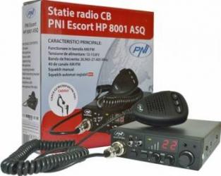 Statie radio CB PNI Escort HP 8001 ASQ include casti cu microfon HS81