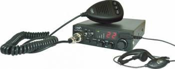 Statie radio CB PNI Escort HP 8001L ASQ cu Casti si Microfon HS81 Statii radio