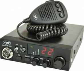 Statie Radio CB PNI Escort HP 8024 ASQ Black Statii radio