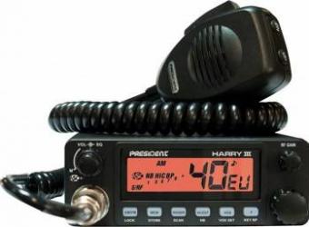 Statie radio CB President Harry 3 ASC cu squelch automat Statii radio