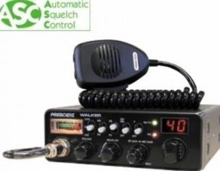 Statie radio CB President Walker ASC cu squelch automat Statii radio
