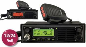 Statie radio CBAlbrecht AE 6491 convertor automat 12-24V
