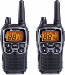 Statie radio PMRLPD portabila Midland XT70 2 buc-set Gri metalic Statii radio