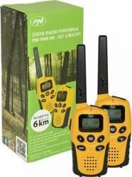 Statie radio portabila PMR R6 PNI 2bc fara incarcator Statii radio
