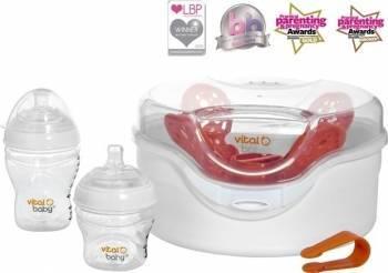 Sterilizator Nurture pentru cuptorul cu microunde Sterilizatoare biberoane