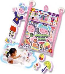 Stickere pentru baie Prieteni la joaca Alex Toys Cadite, prosoape si accesorii baie