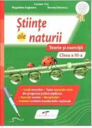 Stiinte ale naturii - Clasa 3 - Teorie si exercitii - Carmen Tica Magdalena Bogheanu
