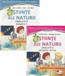 Stiinte ale naturii - Clasa 4. Sem.1+2 - Manual + CD - Mihaela-Ada Radu Dumitra Radu