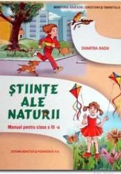 Stiinte ale naturii clasa 3 - Dumitra Radu