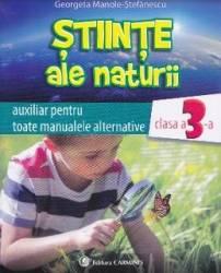 Stiinte ale naturii cls 3 auxiliar - Georgeta Manole-Stefanescu title=Stiinte ale naturii cls 3 auxiliar - Georgeta Manole-Stefanescu