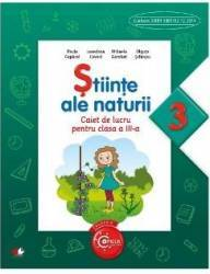 Stiinte ale naturii cls 3 caiet - Paula Copacel Loredana Covaci