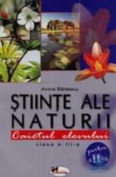 Stiinte Ale Naturii Cls 3 Caiet Partea Ii - Anina Badescu