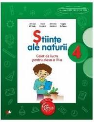 Stiinte ale naturii cls 4 caiet - Jeanina Cirstoiu Paula Copacel