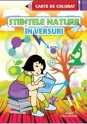 Stiintele naturii in versuri - Carte de colorat