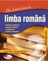 Stiu foarte bine la... Limba romana cls 2 - Tudora Pitila Cleopatra Mihailescu