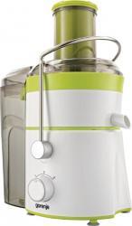 Storcator de fructe si legume Gorenje JC801G, 800 W, Recipient suc 1 l, Recipient pulpa 2 l, 2 Viteze, Tub de alimentar