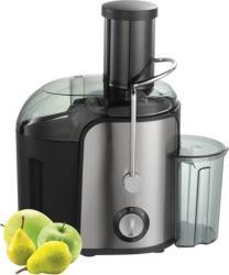 pret preturi  Storcator legume-fructe, Rohnson, R425, 1000W, orificiu de admisie 75mm, recipient pulpa 1,6L, 2 viteze, negru cu inox