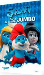 Strumfii - Carte de colorat Jumbo