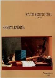 Studii Pentru Copii Op. 37 - Pian - Henry Lemoine