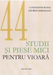 Studii si piese mici pentru vioara - Constantin Botez