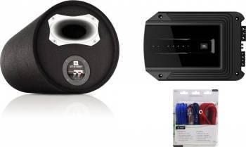 Subwoofer Auto JBL GT-X1300T + Aplificator Auto GX-A3001 + Kit Cabluri Aiv 350940 10mm2 Subwoofer Auto
