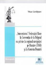 Succesiunea Federatiei Ruse la Conventia de la Belgrad cu privire la regimul navigatiei pe Dunare